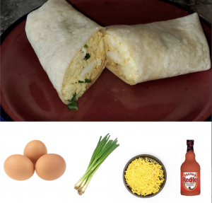 easy breakfast burrito recipe